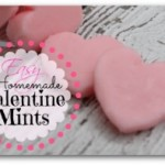 Easy Homemade Valentine Mints