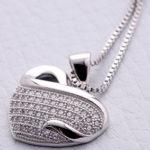Swarovski Necklace & Earrings Set For $14.99