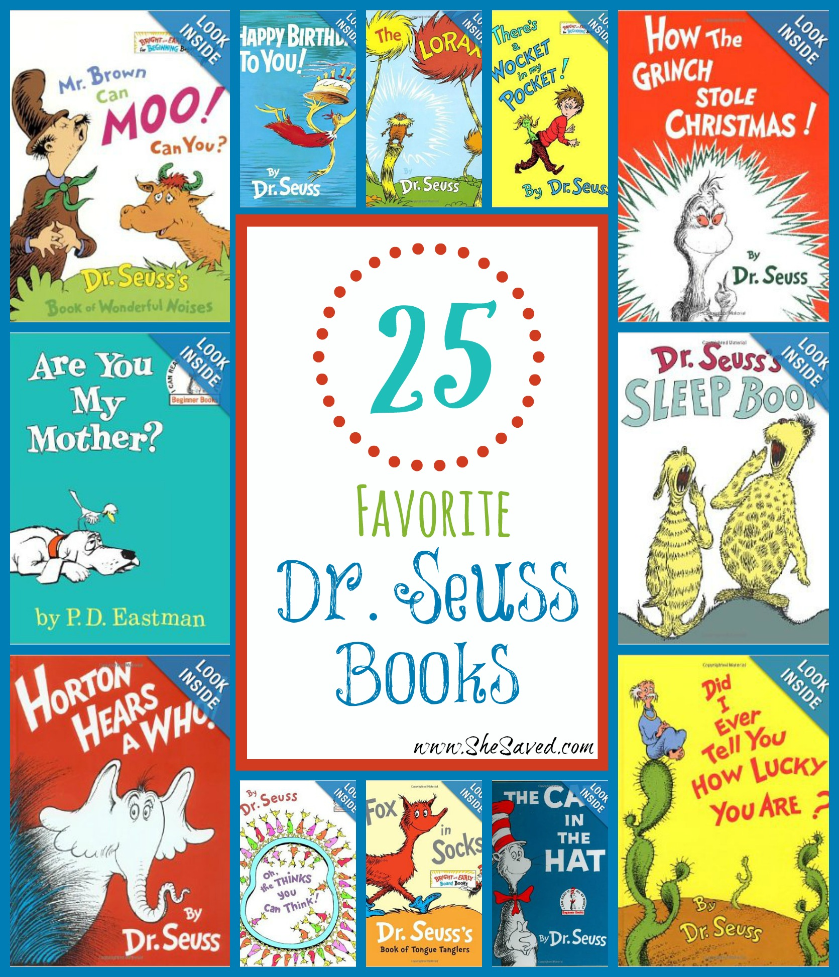 Our 25 Favorite Dr. Seuss Books!