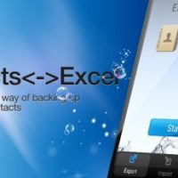 FREE Android App | Contacts<->Excel
