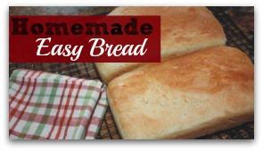 She Bakes! Recipe Share: Homemade Easy Bread