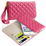 Leather Cell Phone Wallet Case For $3.95 + FREE Shipping