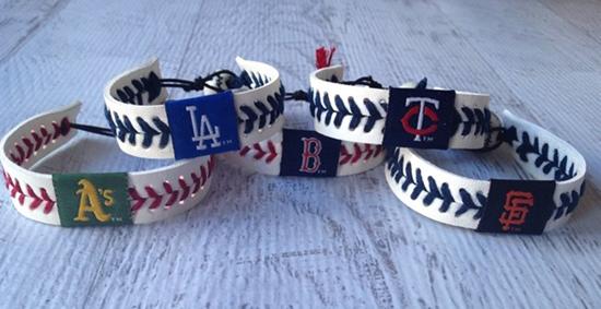MLB Baseball Bracelets