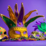 Mini Mardi Gras Float
