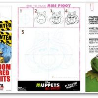 Muppets Most Wanted FREE Activity Sheets