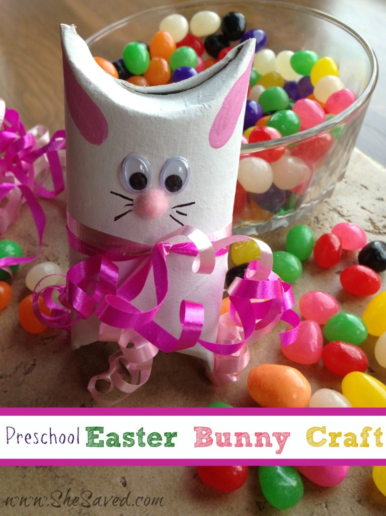 Preschool Easter Bunny Crafts Shesaved 174