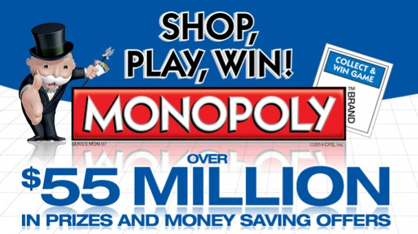 Albertsons Monopoly Shop Play Win
