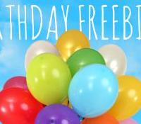 Birthday Freebies | Happy Birthday To YOU!