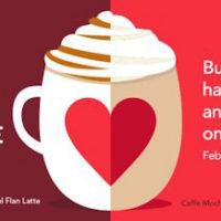 Starbucks | Buy One Latte, Get One Free