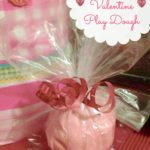 Easy Homemade Play Dough: Valentines Gift Idea