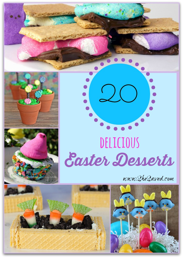 20 Delicious Easter Desserts