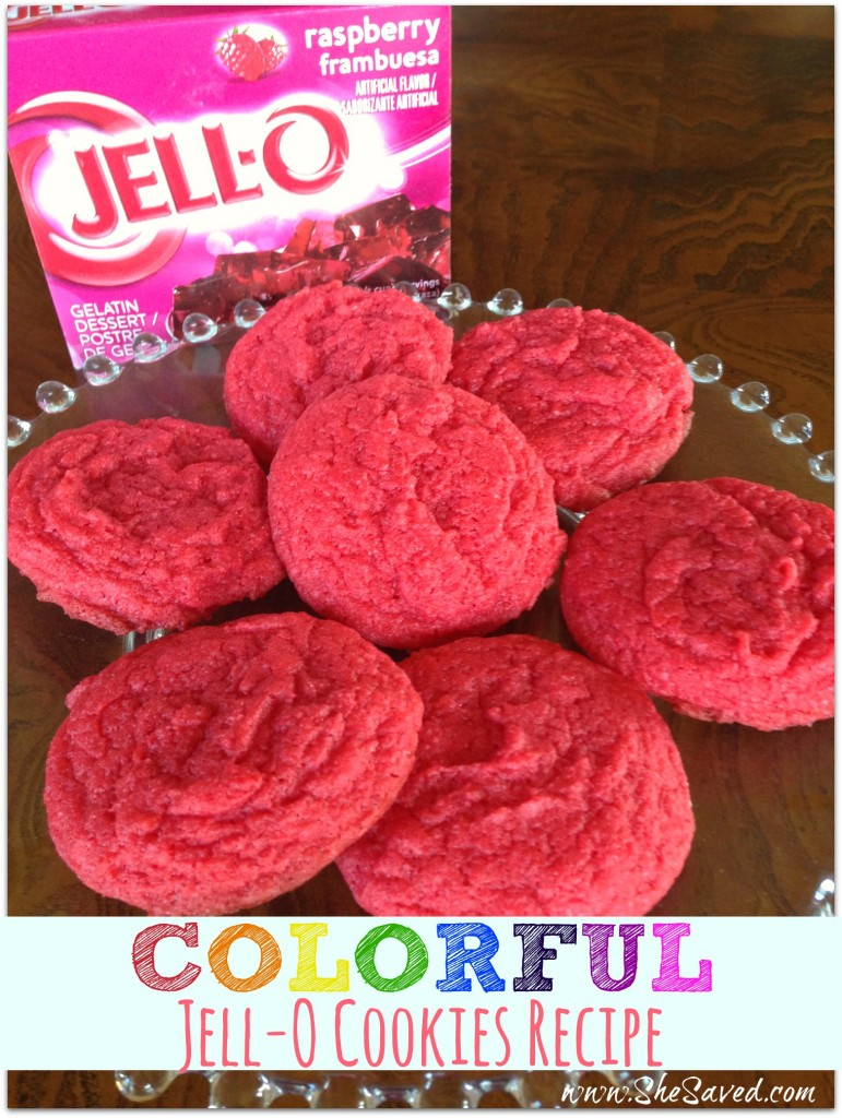 Colorful Jell-O Cookies Recipe