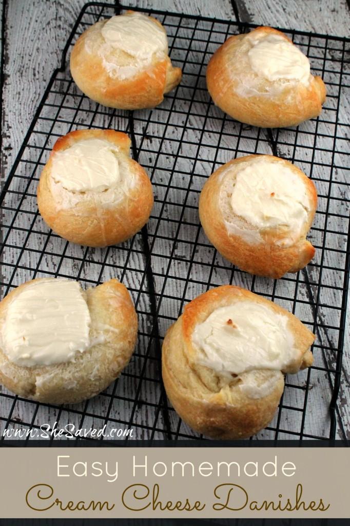 Easy Homemade Cream Cheese Danishes