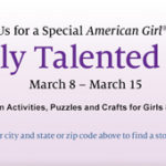 FREE American Girl Activities At Barnes & Noble