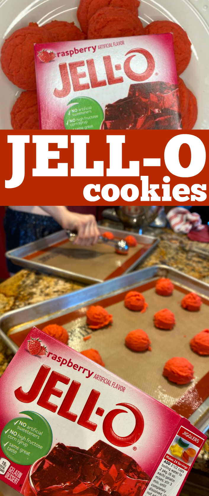 How to make Jello Cookies from Jell-O gelatin packages