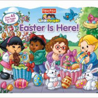 Little People Easter Is Here Board Book For $7.40 Shipped