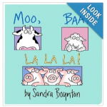 Moo Baa La La La Board Book For $3.76 Shipped
