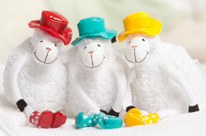 Plush Sheep Gift Set