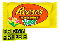 Saving Star | FREE Reese's Milk Chocolate Peanut Butter Egg