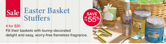 Yankee Candle | Easter Basket Stuffers 4 For $20