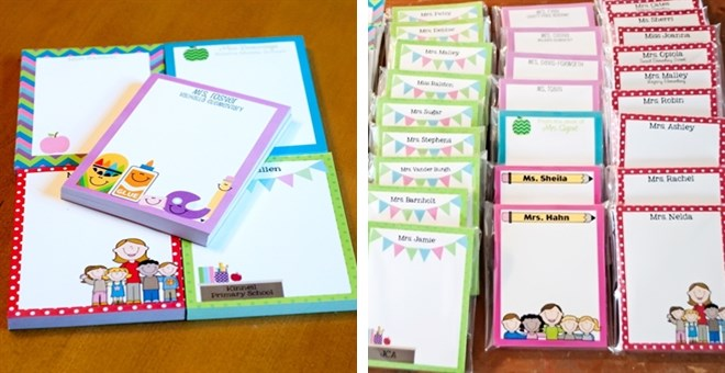 personalized teacher notepads for 12 99 shesaved