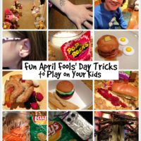 Kid Friendly April Fools Day Pranks