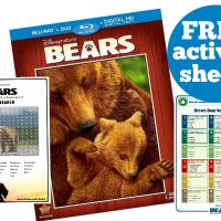 Disneynature Bears Free Printable Activity Sheets!