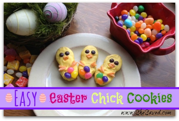 Easy Easter Chick Cookies
