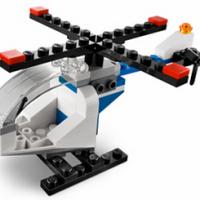 FREE Mini Model Build   LEGO Helicopter
