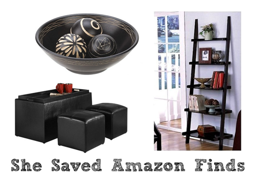 Home decor deals on amazon shesaved for Home decorations amazon