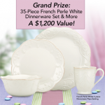 Lenox Easter Dinner Sweepstakes