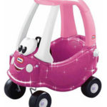 Little Tikes Glittery Princess Cozy Coupe For $67.99 Shipped