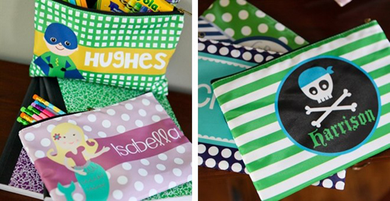 Personalized Pencil Bags