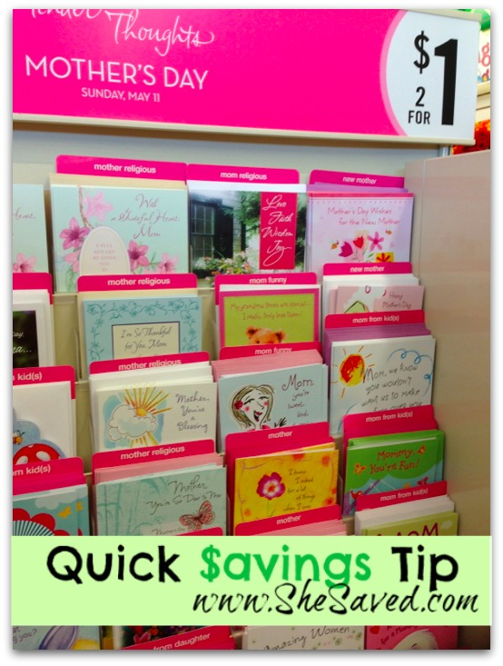 Quick Savings Tip