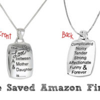 Sterling Silver Mother Daughter Pendant For $29 Shipped