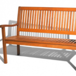 Strathwood Hardwood Bench