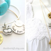 Teach Love Inspire Bangle Or Necklace For $12.99