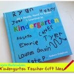 Great Gift Idea for Kindergarten Teachers