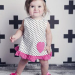 Toddler Heart Dress Set