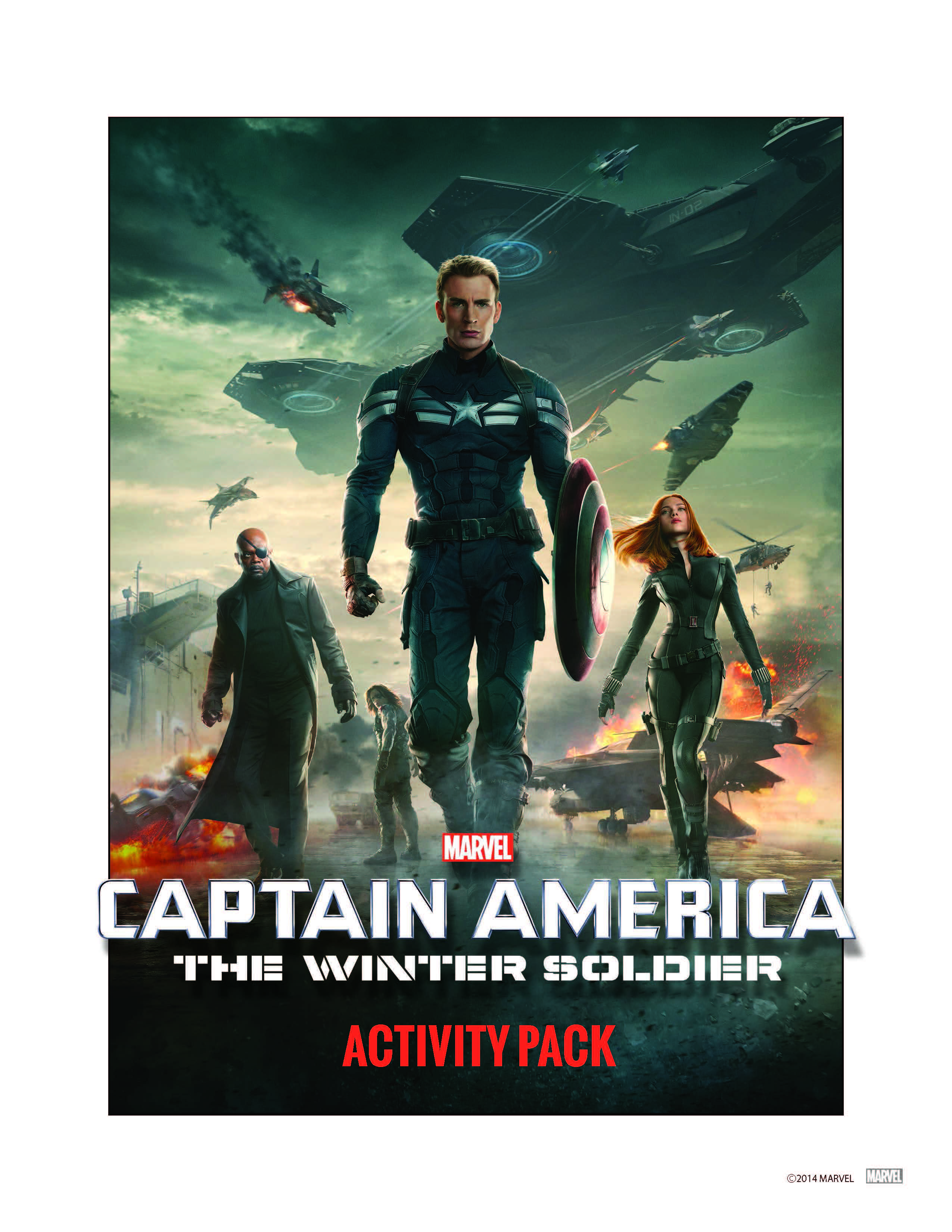 New Free Captain America Printable Activity Sheets!