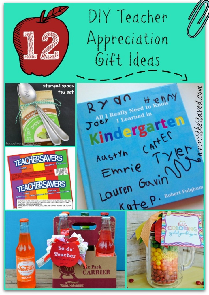 DIY Teacher Appreciation Gift Ideas