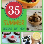 35 Summer Snacks for Kids