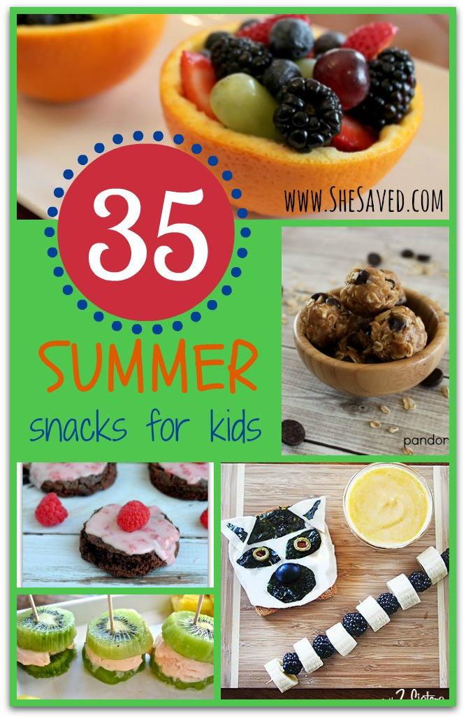 Best Summer Snacks for Kids