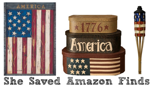 Americana decor deals on amazon shesaved for Americana decoration