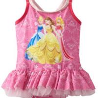 Disney Princess Girls Swimsuit For $9.89 Shipped