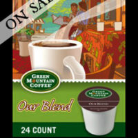 Green Mountain Coffee Our Blend K-cups 24 Count For $11.99
