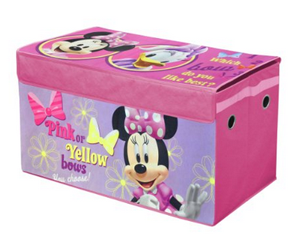 Minnie Mouse Collapsible Storage Trunk