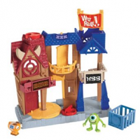 Monsters University Imaginext Row Play Set For $7.19