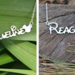 Personalized Mouse Ear Necklace For $18.99