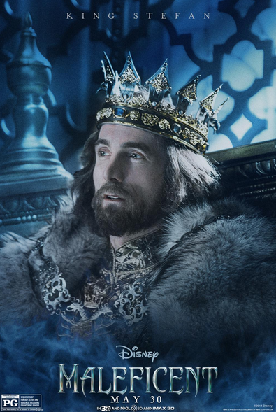 The Charming Sharlto Copley as King Stefan #MaleficentEvent